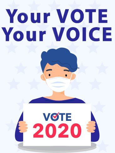 Voice & Vote – ELECTION DAY CARDS