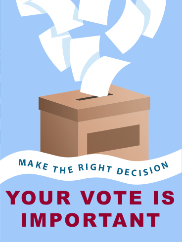 Flying Ballot – ELECTION DAY CARDS