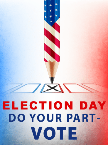 Vote Please? – ELECTION DAY CARDS