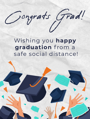 Safe Graduation –  Graduation Cards