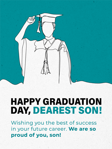 Hats Off!  –  Graduation Cards