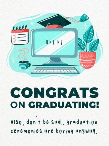 Virtual Graduation –  Graduation Cards