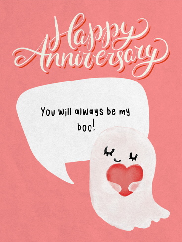 Honey Bunny Boo! –  Happy Anniversary Cards