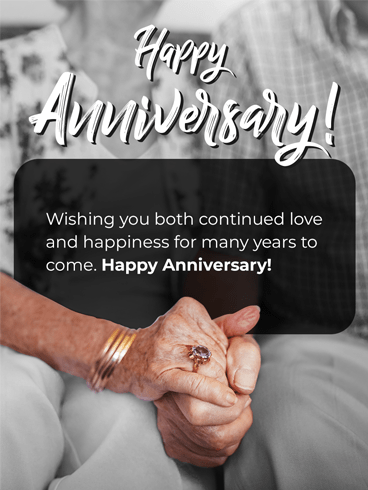 Old Together –  Happy Anniversary Cards