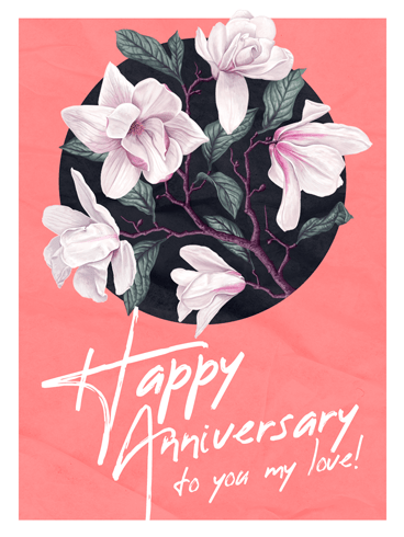 Flowers Like You –  Happy Anniversary Cards