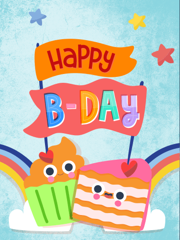 Rainbow Birthday – HAPPY BIRTHDAY NEWLY ADDED CARDS