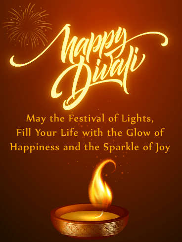 Glow of Happiness – Diwali Cards