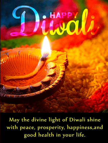Colorful & Bright – Diwali Cards