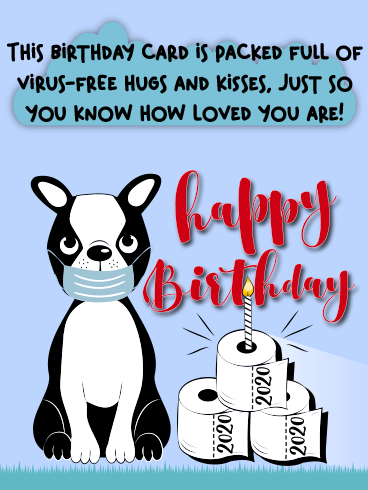 Birthday In Pandemic – Happy Birthday Newly Added Cards