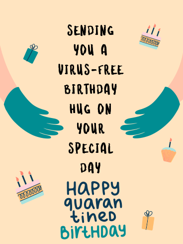 Virus-Free Hug – Happy Birthday Newly Added Cards