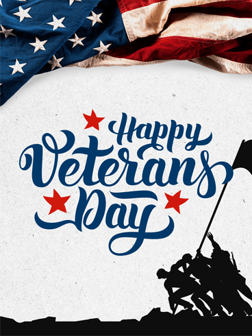 Brave Soldier –  Veteran Day Cards