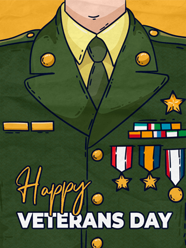 Sacrifices –  Veteran Day Cards