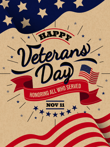 Soldier & Sailor –  Veteran Day Cards