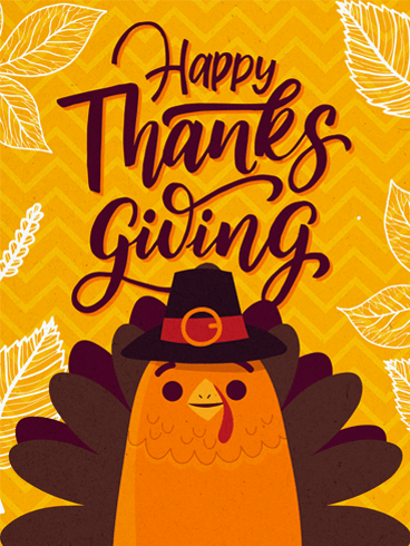 Turkey Time! –  Happy Thanksgiving Cards 2020