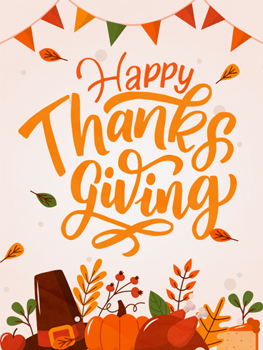 From Heart –  Happy Thanksgiving Cards 2020