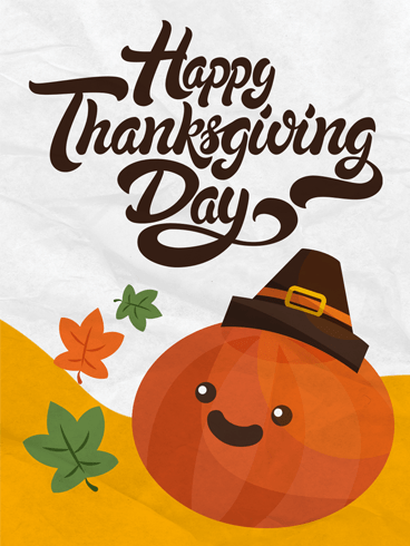 Give 'em Pumpkin –  Happy Thanksgiving Cards 2020
