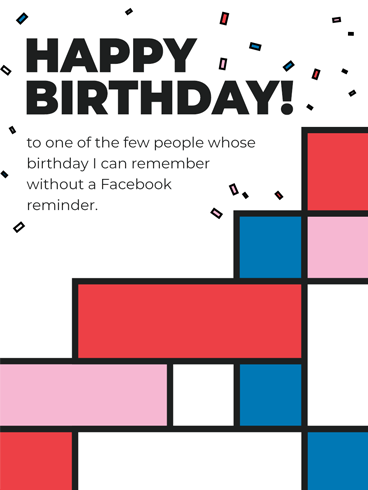 Square Birthday –  Newly Added Birthday Cards