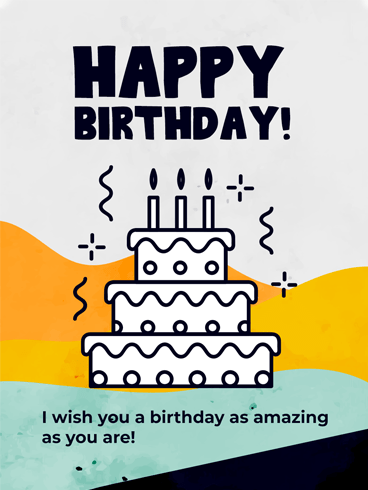 Tasty & Fun! –  Newly Added Birthday Cards