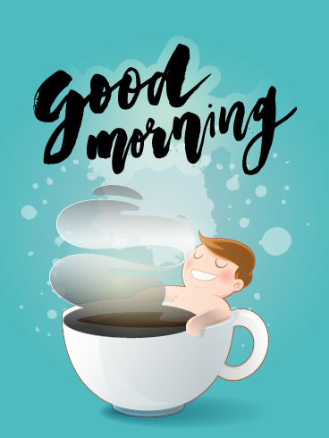 Coffee Tub – Good Morning Cards