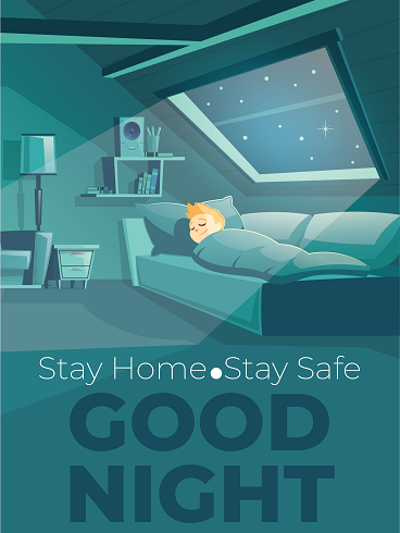Stay Safe – Good Night Cards