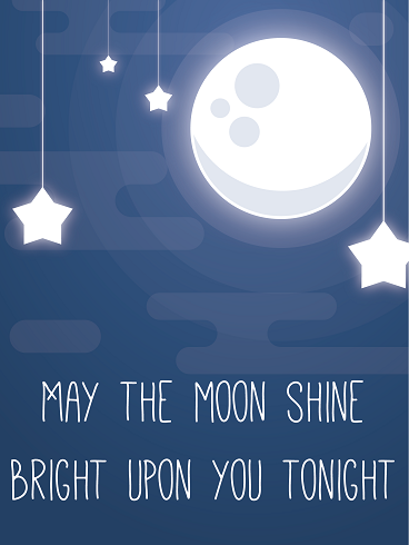 Moon & Stars – Good Night Cards