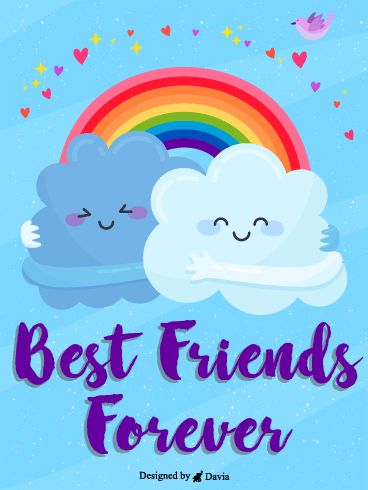 Cloud Friends – Friendship Cards