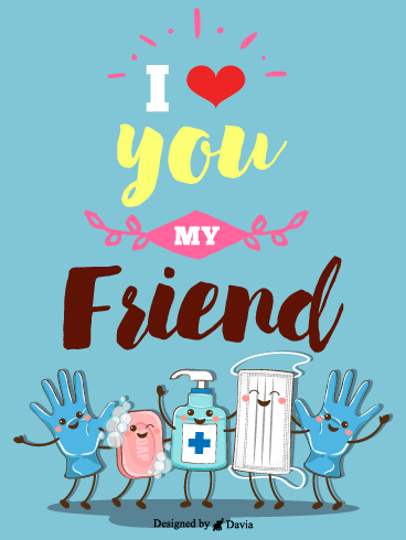 Stay Safe Pal – Friendship Cards