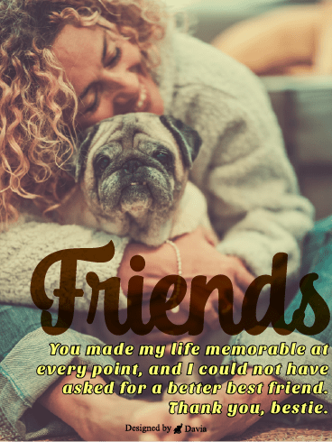 You All I Need – Friendship Cards