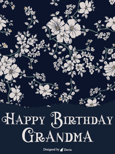 Cornerstone of Our Family – Happy Birthday Grandmother Cards