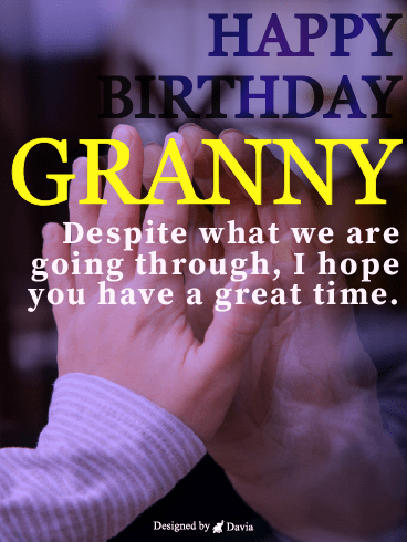In Our Heart – Happy Birthday Grandmother Cards