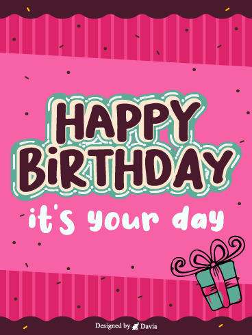 Your Day – Newly Added Birthday Cards
