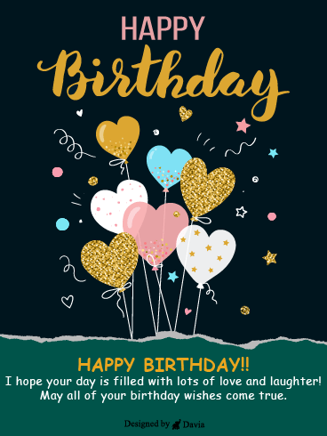 Love Balloon – Newly Added Birthday Cards