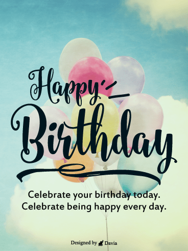 Celebrate Happiness – Newly Added Birthday Cards