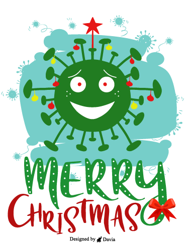 Virus Tree – Christmas Cards
