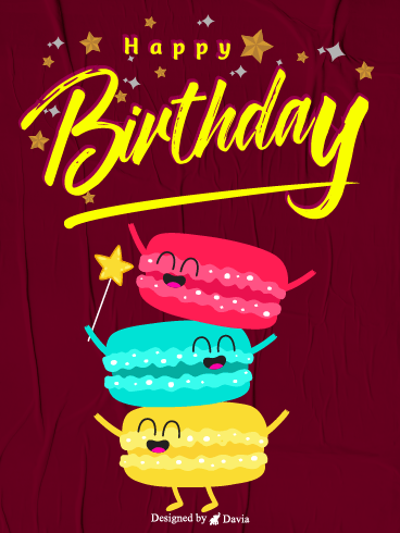 Starry Birthday – Newly Added Birthday Cards