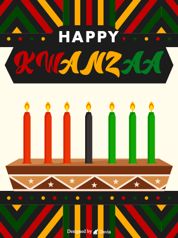 Candles For Kwanzaa – Kwanzaa Cards