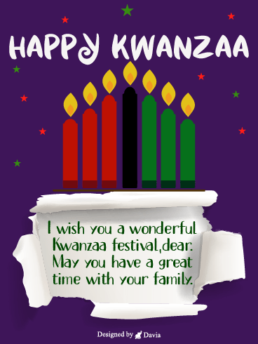 Great Time On Kwanzaa – Kwanzaa Cards