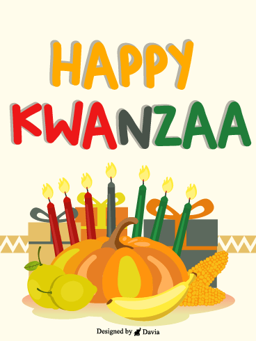 Cheerful Kwanzaa – Kwanzaa Cards