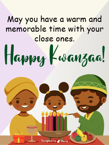 Family Feast On Kwanzaa – Kwanzaa Cards