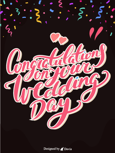Confetti & Love – Congratulations Cards