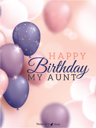 Soft Birthday – Happy Birthday Aunt Cards