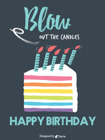 Blow Out Candles – Newly Added Birthday Cards