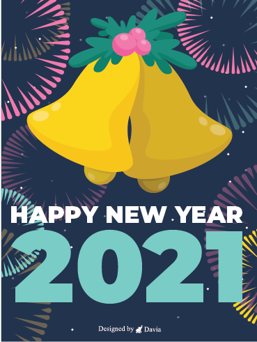 Bell Rings! – Happy New Year Cards