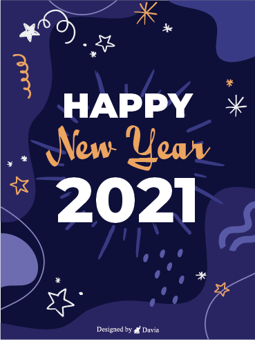 Beautiful New Year – Happy New Year Cards