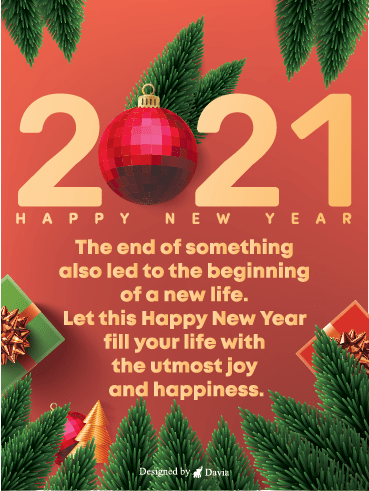 New Beginning – Happy New Year Cards