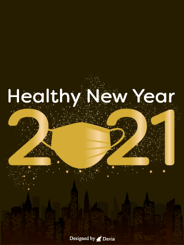 Healthy New Year – Happy New Year Cards