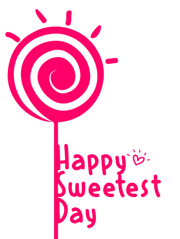 Pink Lolly – HAPPY SWEETEST DAY CARDS