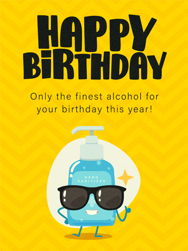 Finest Birthday Alcohol –  Newly Added Birthday Cards