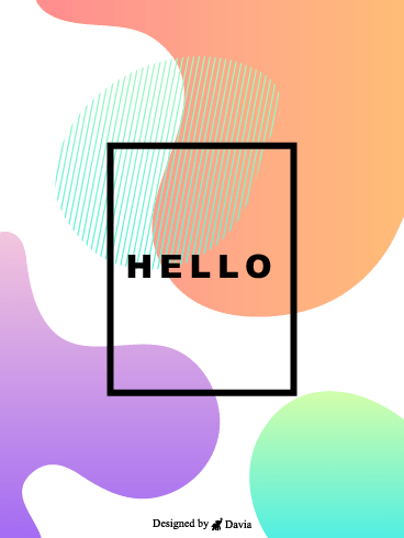 Light Card – Saying Hi Cards
