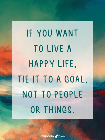 Happy Live – Positive Quotes Cards